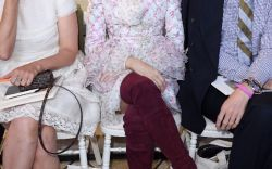 Celebs In the Front Row at Paris Couture Fashion Week