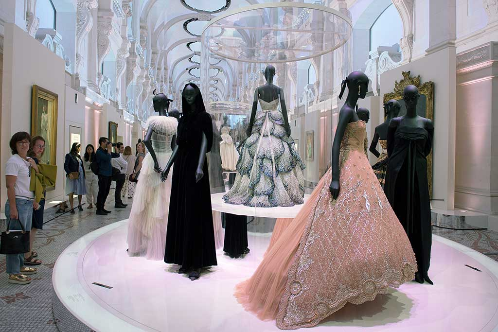 Christian Dior exhibition.