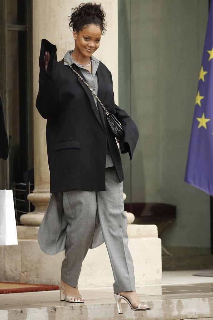Rihanna Sergio Rossi Sandals