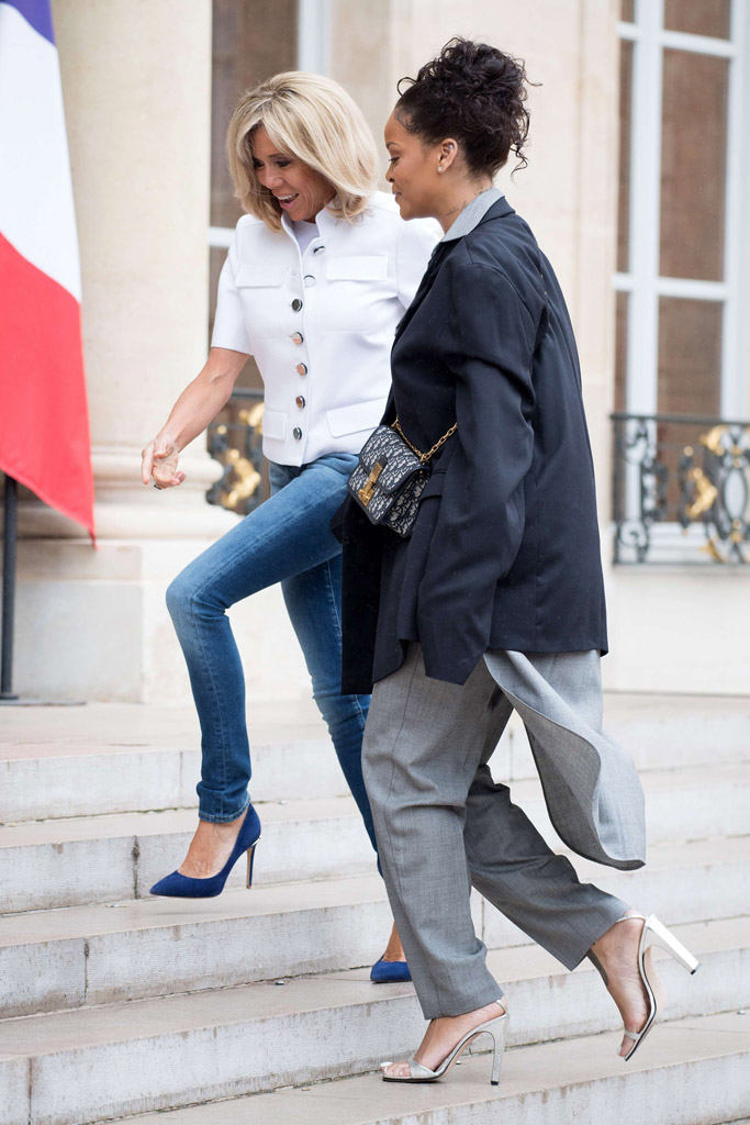 Rihanna France First Lady