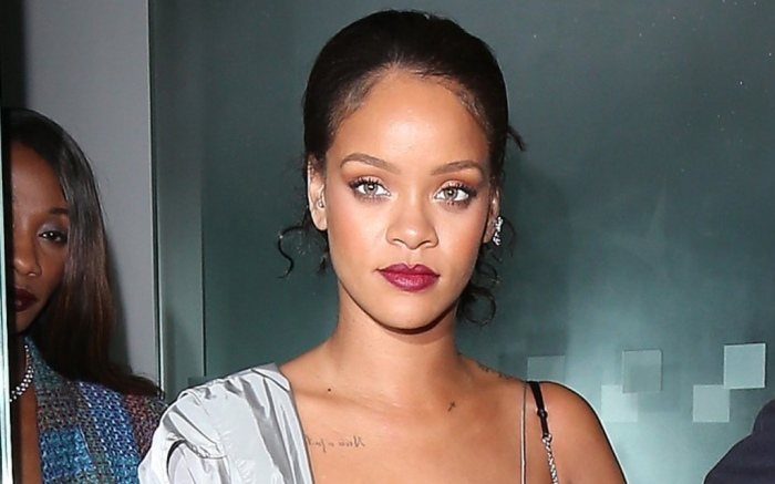 Rihanna Went for Head-to-Toe Silver Look After 'Valerian ...