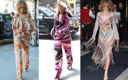 Rita Ora wears the '70s trend