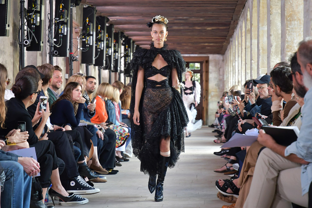 rodarte, spring 2018, ss 18, paris, haute couture fashion week, runway