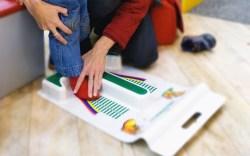 shoe sizer, measuring
