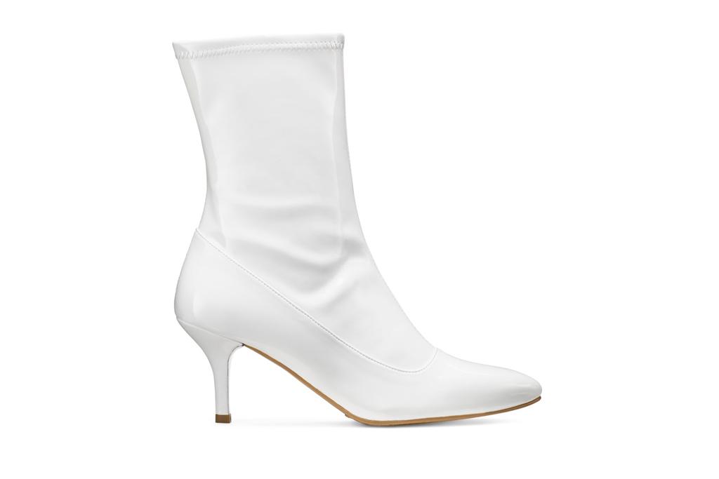 Stuart Weitzman, boots, white boots