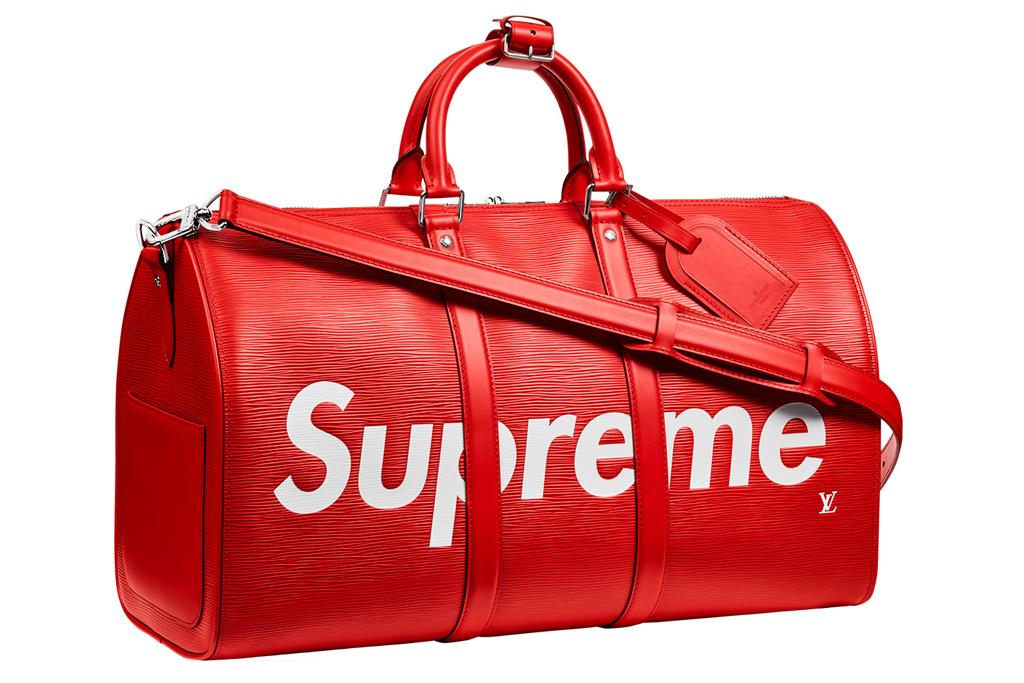 Supreme x Louis Vuitton Keepall 45