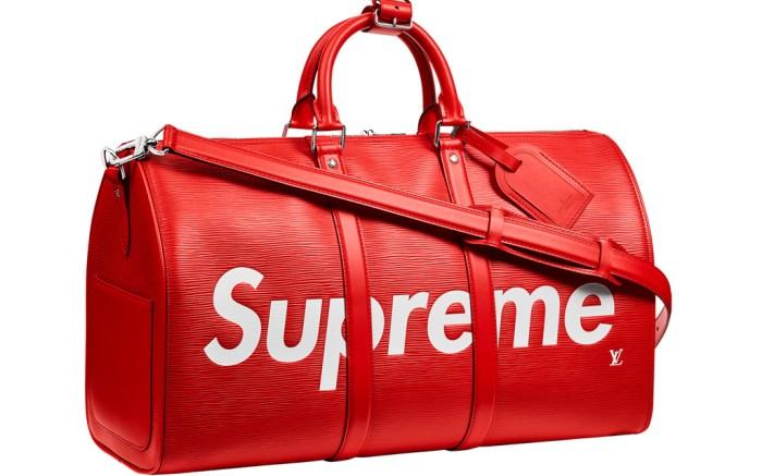 supreme louis vuitton bag