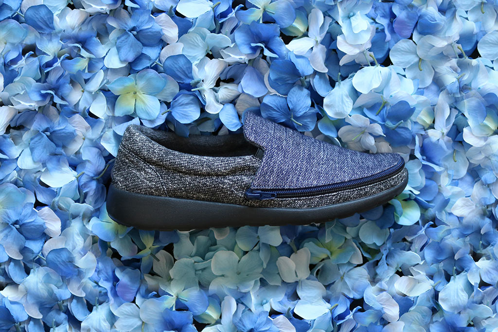 Switch interchangeable slip-on shoes