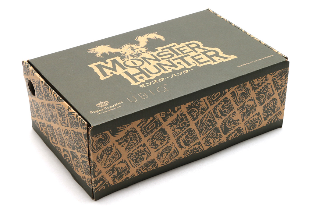 Ubiq x Capcom Monster Hunter Sneakers