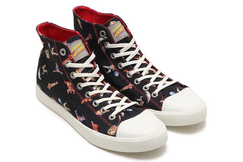 Ubiq x Capcom Street Fighter II Sneakers