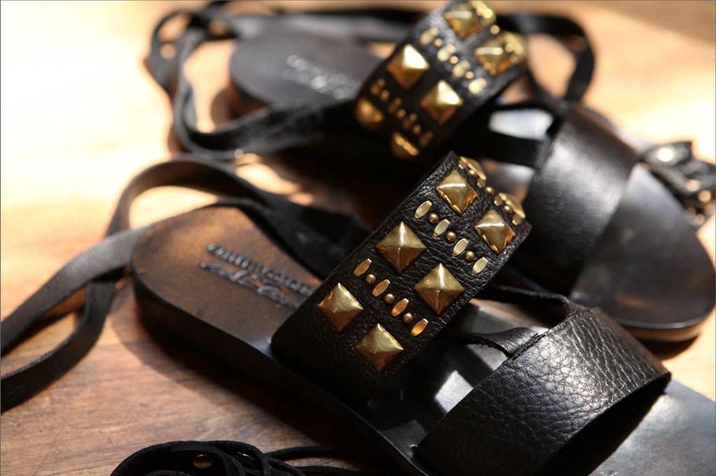 Calleen Cordero, urban zen, donna karan, sandals