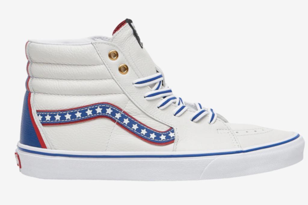 Vans, american flag sneakers