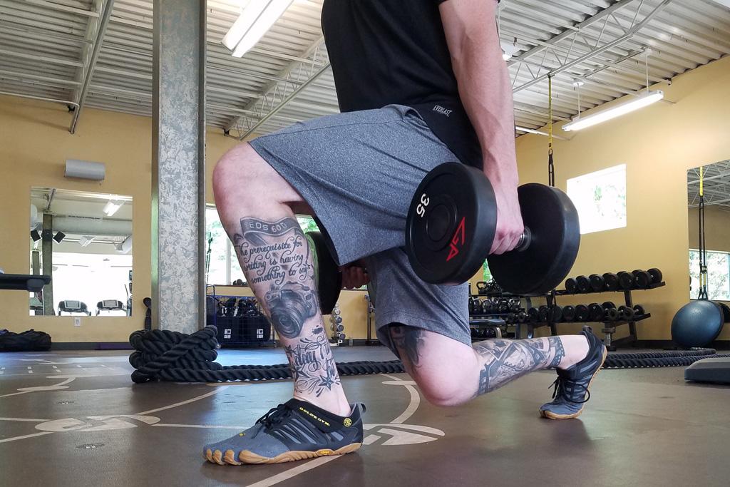 Gym x Vibram FiveFinger Toe Shoes