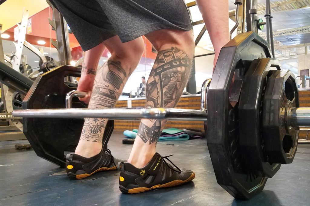 Vibram Gold's Gym V-Train