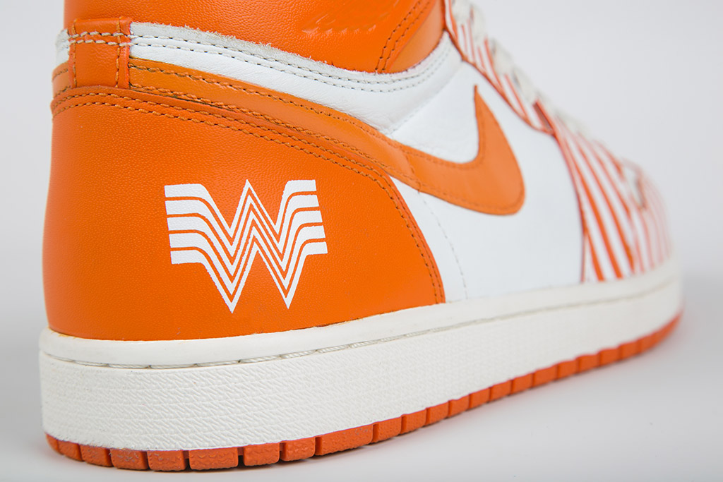 Whataburger #Whatacontest custom shoes by Jake Danklefs of dank & co.