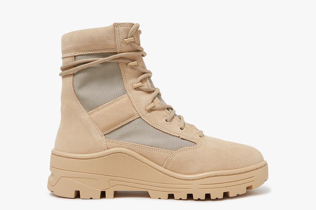 Yeezy Combat Boots Light Sand