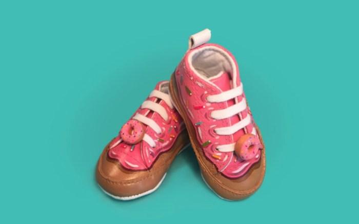 Hannah Choi, baby donut sneakers