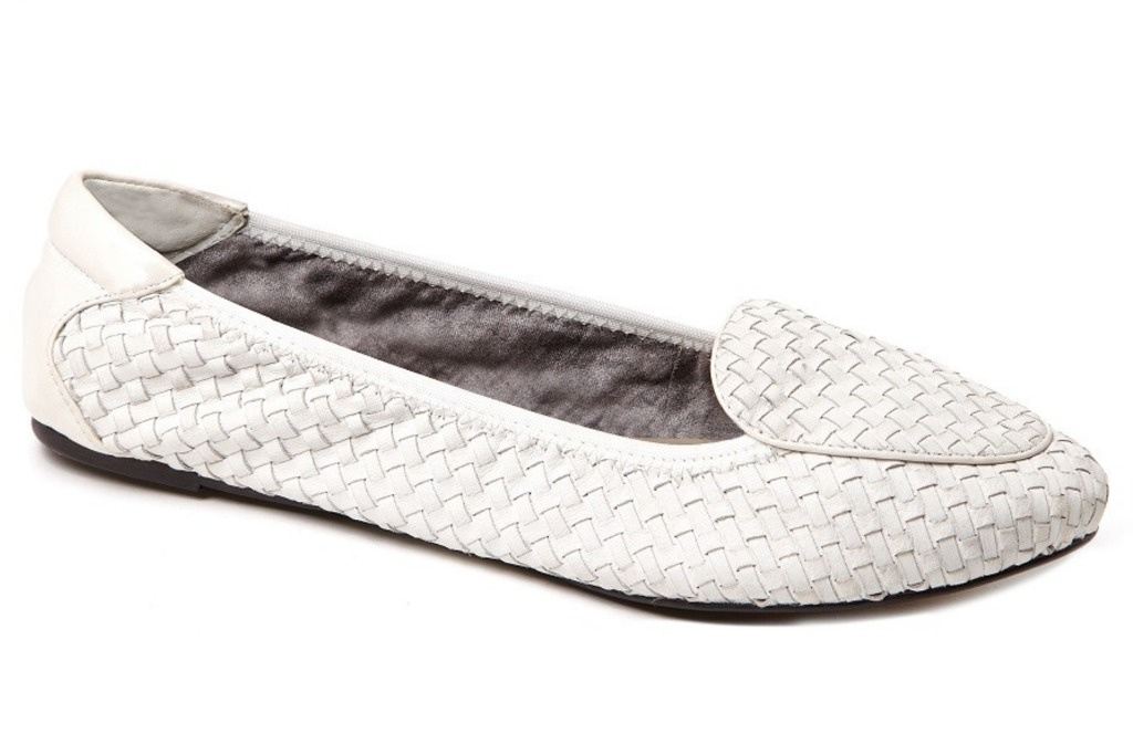 cocorose london Clapham White loafers