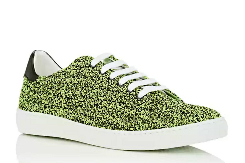 Barneys Melange Knit Sneakers
