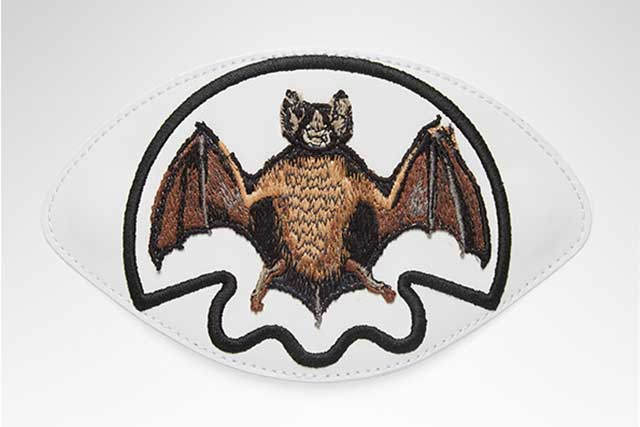 Bat patch for Gucci's Ace sneakers exclusive to Harrods.