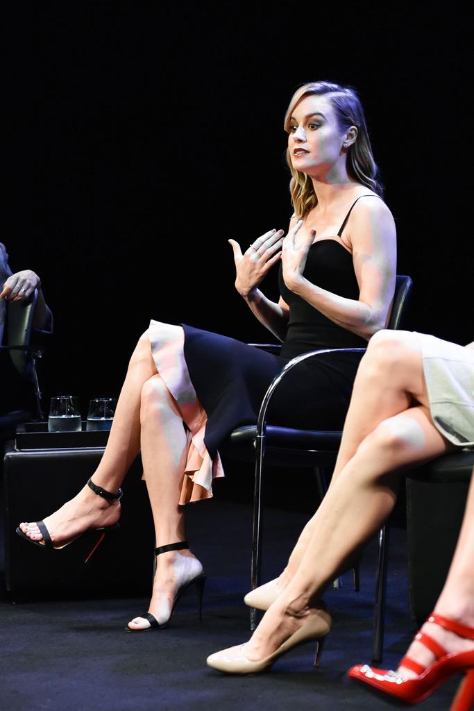 Brie Larson, Christian Louboutin