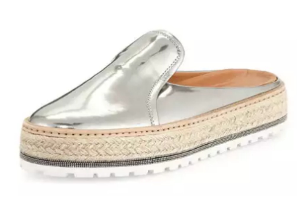 Brunetto Cucinelli espadrille shoe
