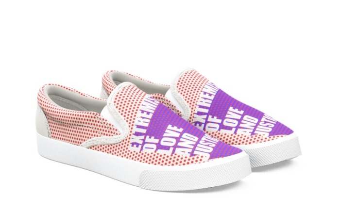 """Bucketfeet """"Extremist of Love and Justice"""""""