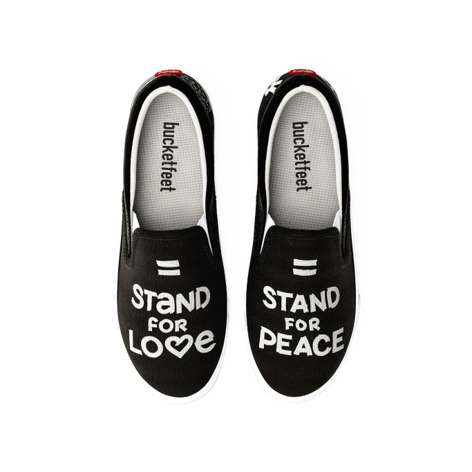 Bucketfeet Stand For Peace
