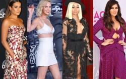 Lea Michele, Charlize Theron, Blac Chyna,