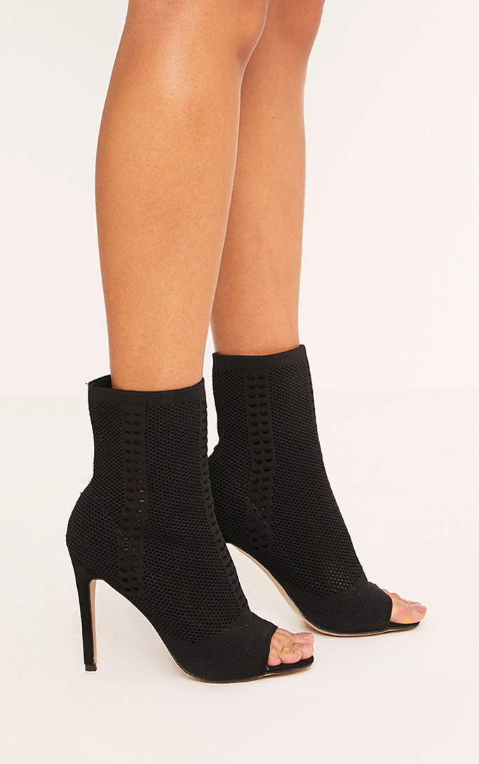 pretty little thing sock boots, bootie