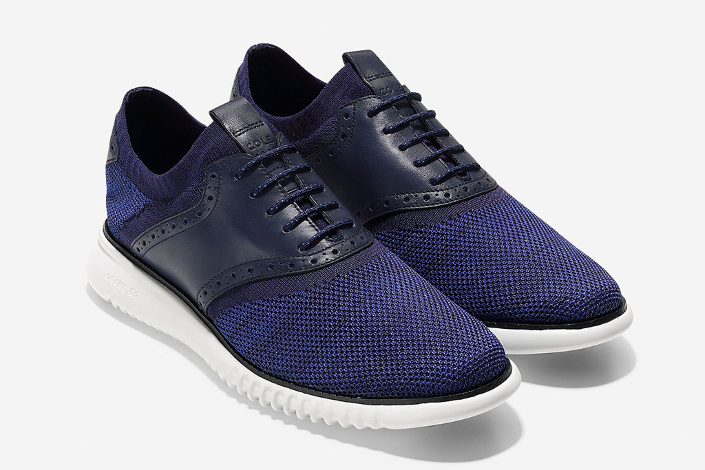 Cole Haan 2 Zerogrand Packable Saddle Knit Oxford