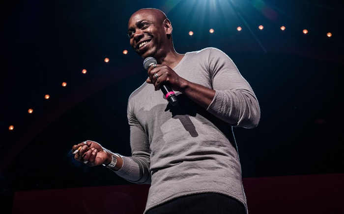 Dave Chappelle performs at Radio City Music Hall, Aug. 2017