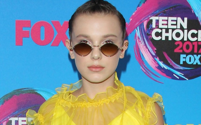 millie bobby brown teen choice awards 2017