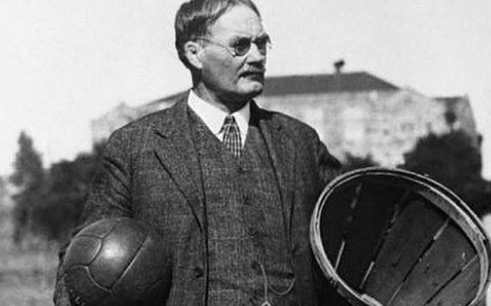 james Naismith, inventor of basketball