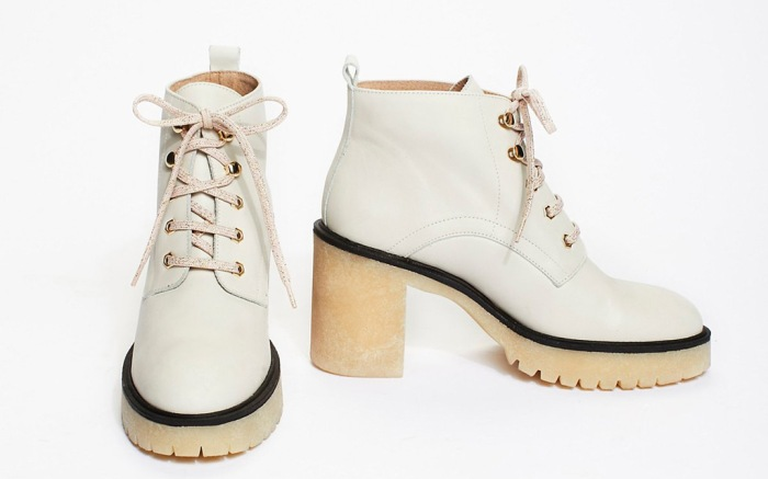 Free People White Boot