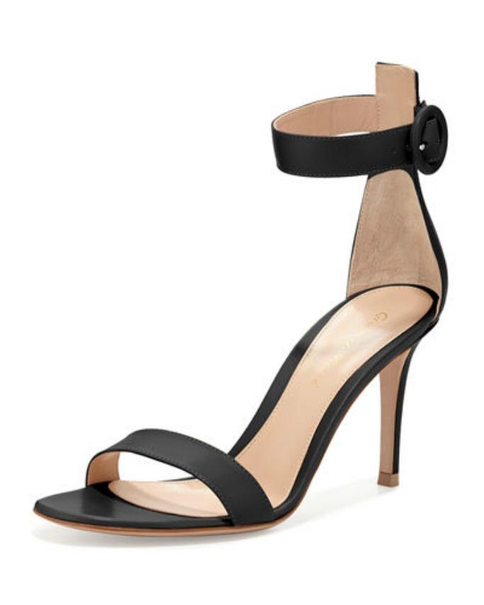 GIANVITO ROSSI Portofino suede sandals