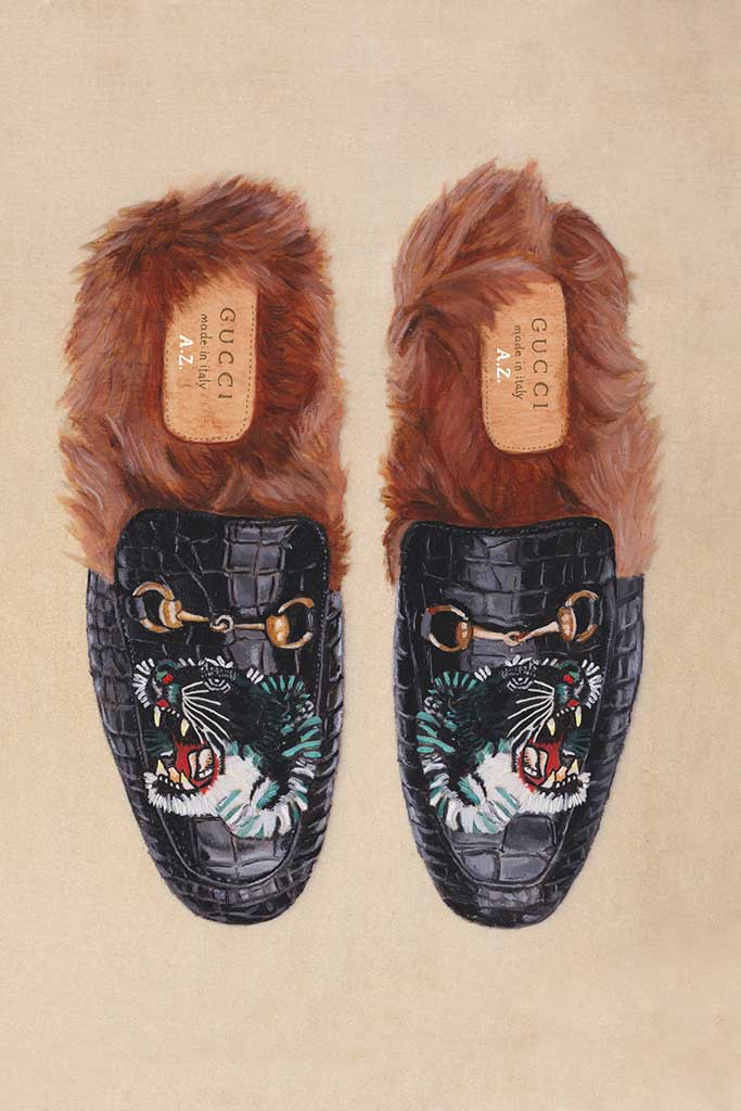 Gucci takeover at Harrods.