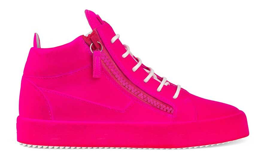 Giuseppe Zanotti Unfinished Sneaker.