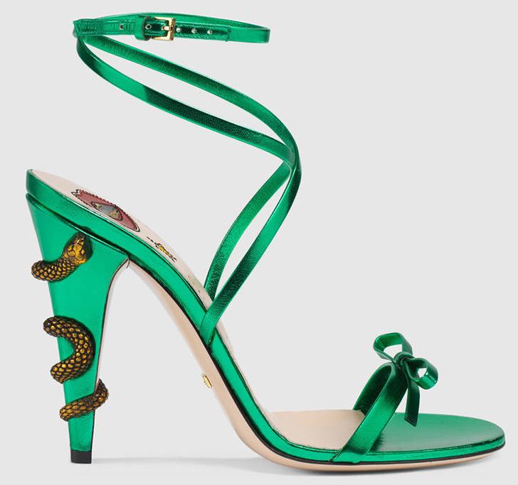 Gucci snake sandal spring summer 2017