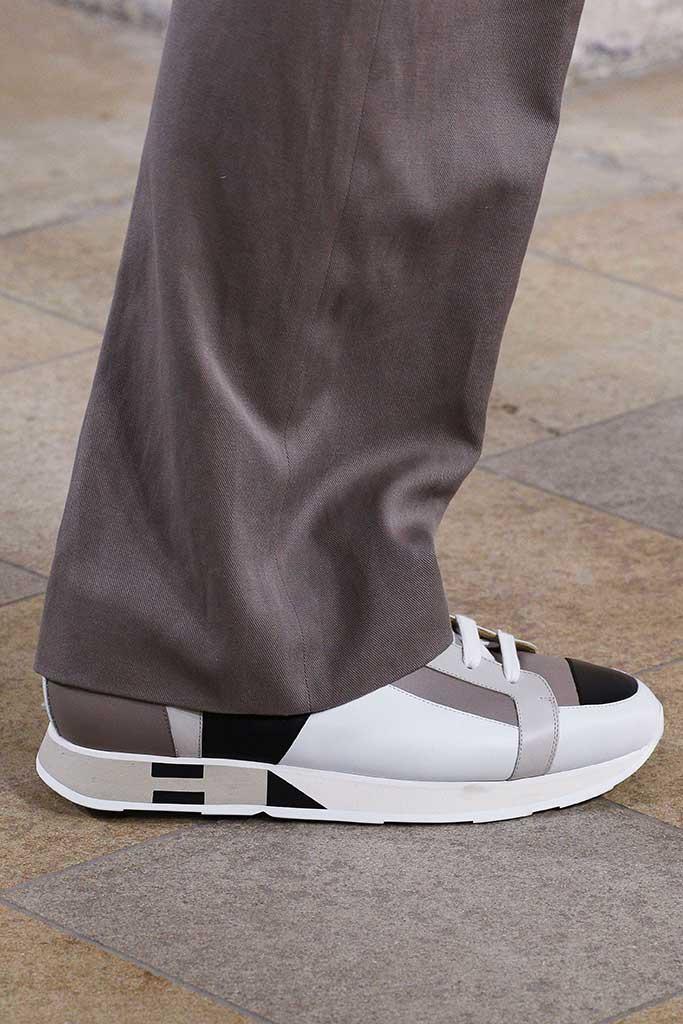Hermes men's spring 2018 sneaker.