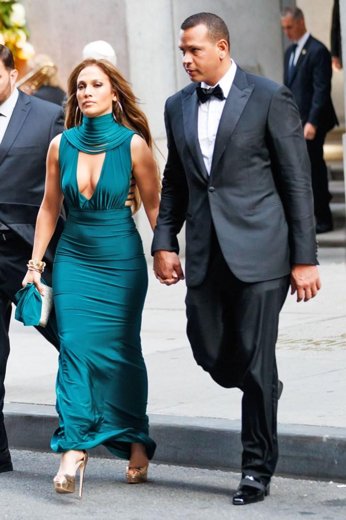 Jennifer Lopez, Alex Rodriguez, Cipriani