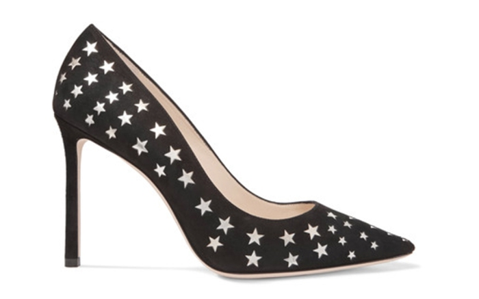 jimmy choo, star pumps