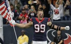 Reebok Makes NFL Star J.J. Watt's