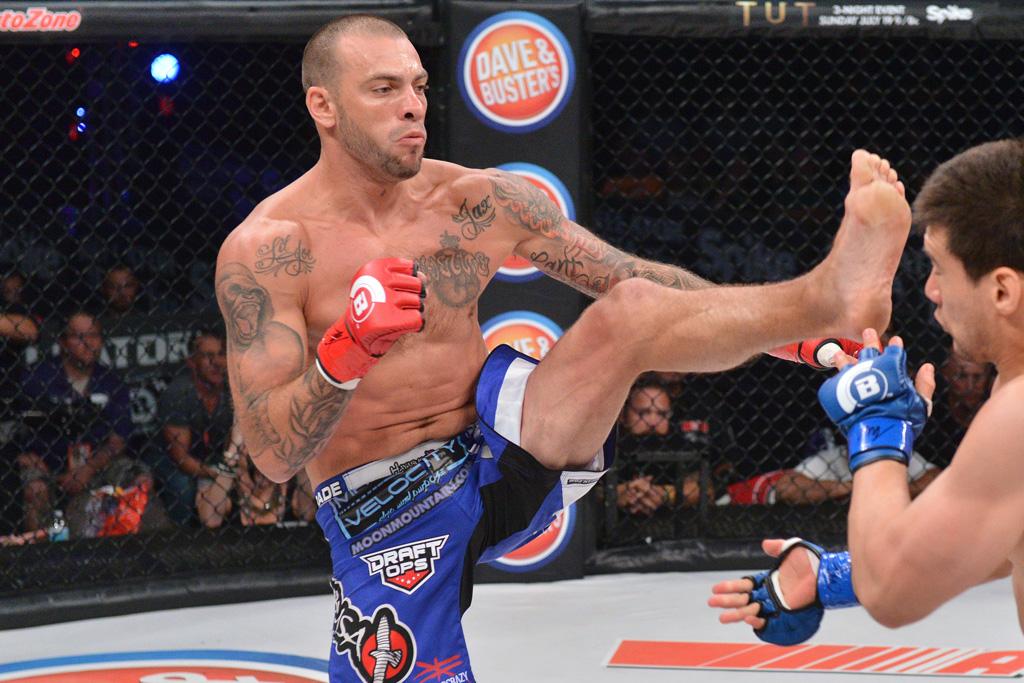 Muay Thai kickboxer mixed martial artist Joe Schilling