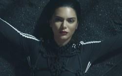 Kendall Jenner Brings Heat in Underwear,