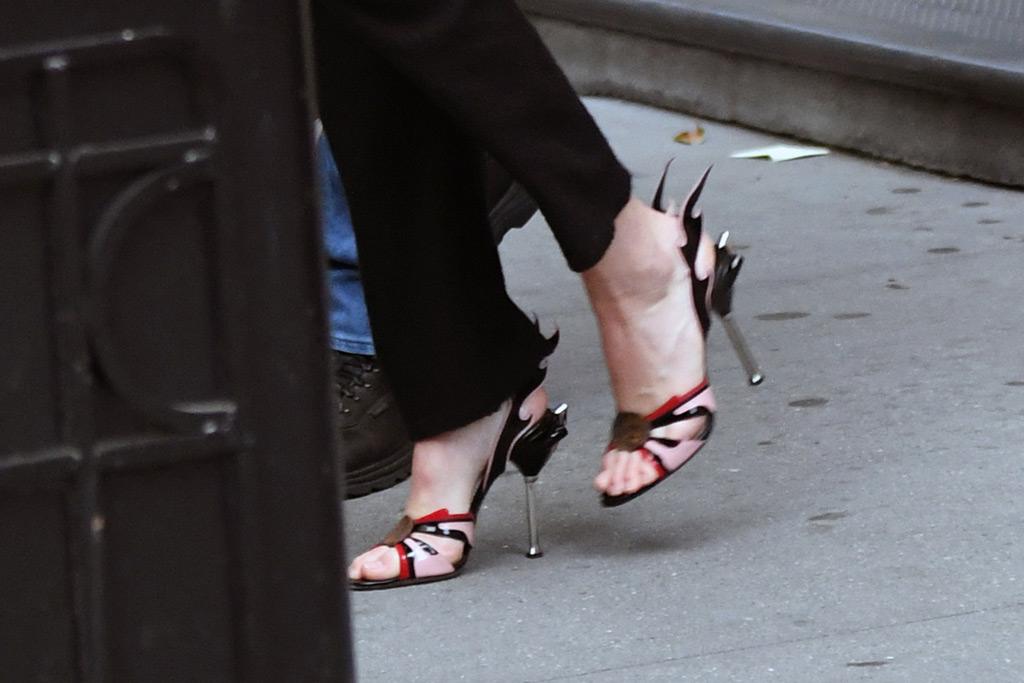 Kendall Jenner, Prada sandals