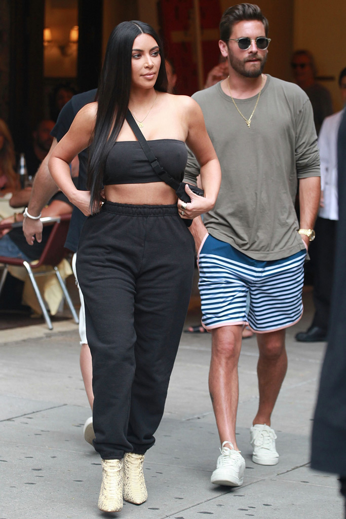 Kim Kardashian West, Scott Disick