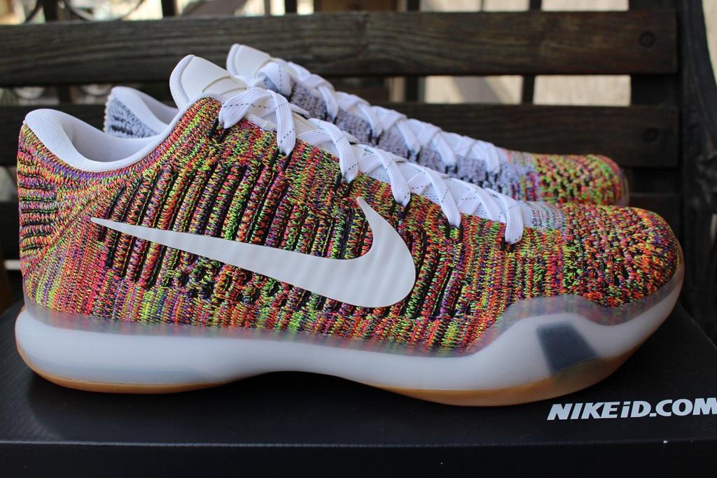 Nike Kobe 10 Low iD Multicolor