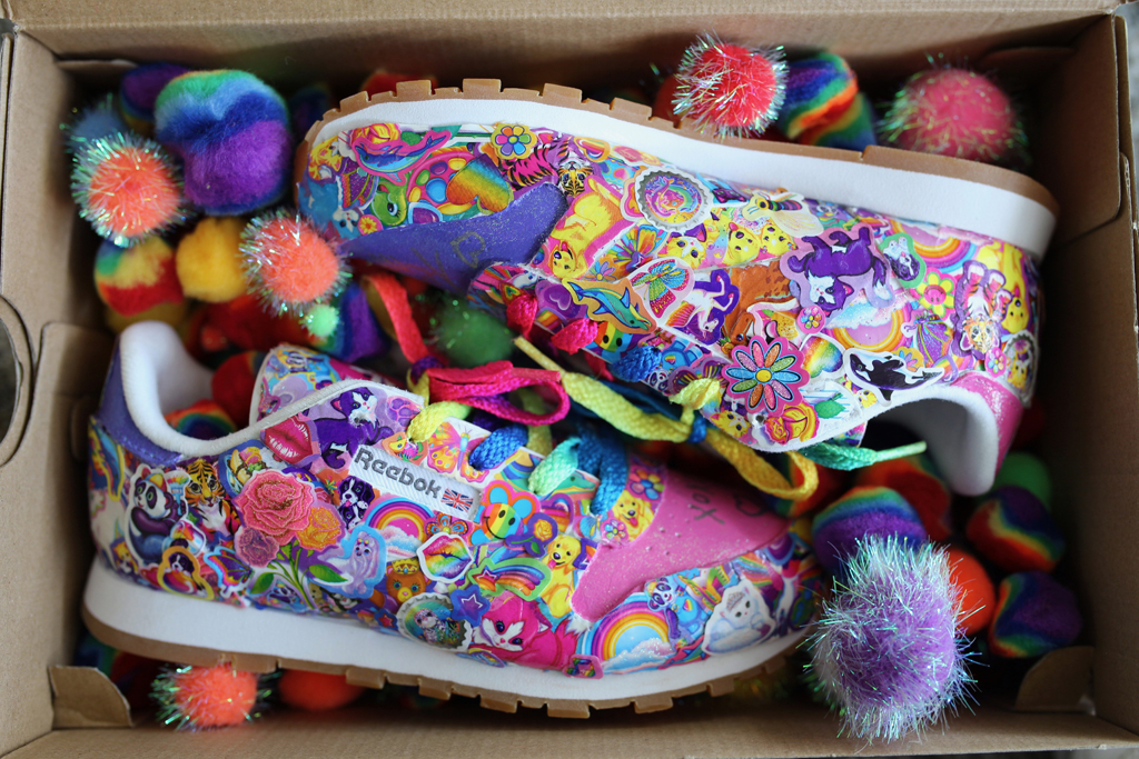 Lisa Frank S Limited Edition Reebok Shoes Are A Throwback To The 90s Footwear News