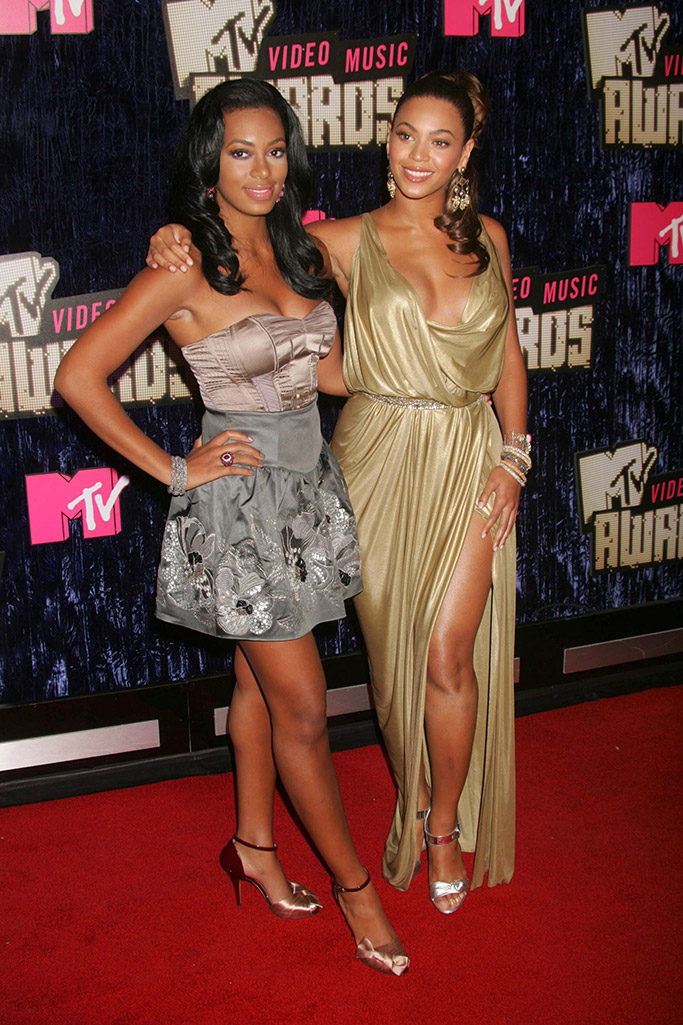 beyonce, solange knowles, 2007 MTV VMAS, MTV video music awards,
